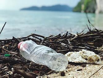 plastic bottle ocean