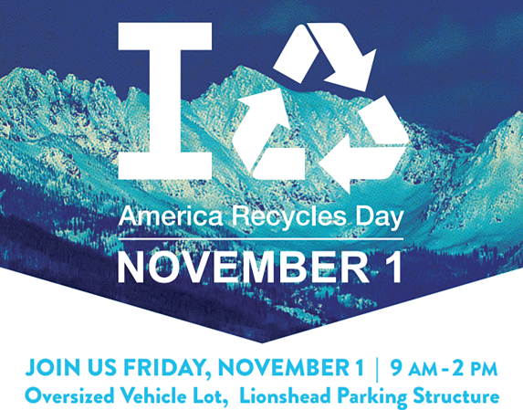town of vail recycling event 2019
